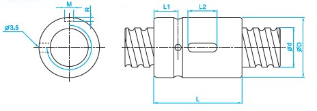 SCI3204滚珠丝杆图
